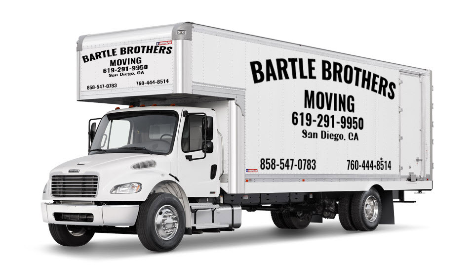 Bartle Bothers Moving Truck side view