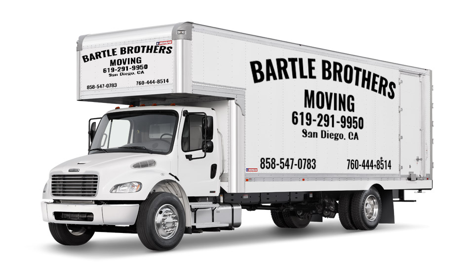 Moving Truck Companies Near Me >> Bartle Brothers Moving Company San Diego Ca